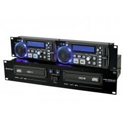 CD/MP3 player dual cu master tempo, Omnitronic XMP-2800MT