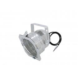 Proiector PAR-56 scurt, silver Eurolite PAR-56 Spot Short With Cable sil 42000810