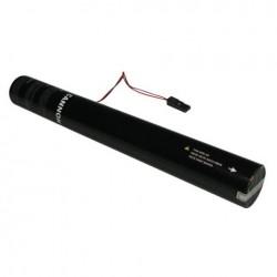 Rezerva confetti streamer actionare electrica Showtec 50cm verde deschis