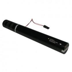 Rezerva confetti streamer actionare electrica Showtec 50cm portocaliu