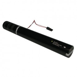 Rezerva confetti streamer actionare electrica Showtec 50cm roz