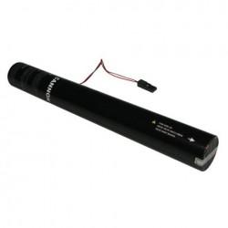Rezerva confetti streamer actionare electrica Showtec 50cm roz metalic