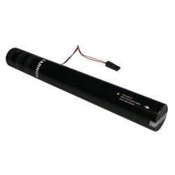 Rezerva confetti streamer actionare electrica Showtec 50cm rosu metalic