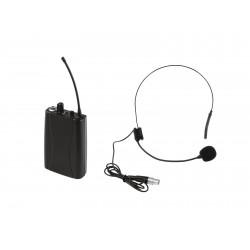 Set WMT-1M UHF transmitter + UHF-502 headset, Omnitronic 20000243