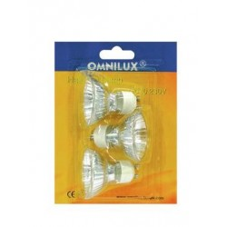 Bec Omnilux GU-10 230V/50W 1500h 25° blister 3x (88542007)
