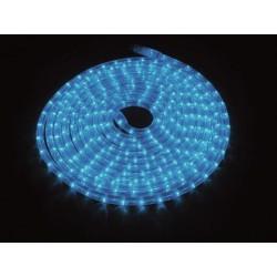 Furtun de lumini cu LED, 9m, albastru, Eurolite RUBBERLIGHT LED RL1-230V blue 9m (50506250)