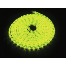 Furtun de lumini cu LED, 9m, galben, Eurolite RUBBERLIGHT LED RL1-230V yellow 9m (50506220)