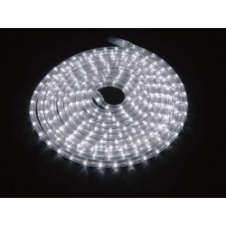 Furtun de lumini cu LED, 9m, alb 6400K, Eurolite RUBBERLIGHT LED RL1-230V white 6400K 9m (50506210)