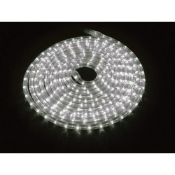 Furtun de lumini cu LED, 9m, alb 3000K, Eurolite RUBBERLIGHT LED RL1-230V white 3000K 9m (50506201)
