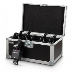 Set 10 device-uri ¨power drop¨pt cortine, plase baloane, etc + 10 cleme + flightcase, MagicFX POWER DROP SET PRO (MFX1504)