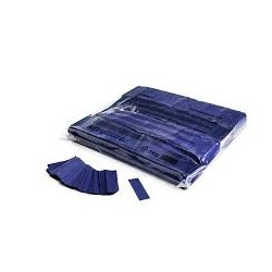 Slowfall confetti rectangles 1 Kg, 55x17mm - Dark Blue, MagicFX CON01DB