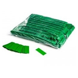 Slowfall confetti rectangles 1 Kg, 55x17mm - Dark Green, MagicFX CON01DG