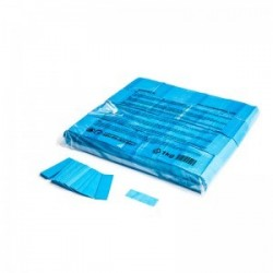 Slowfall confetti rectangles 1 Kg, 55x17mm - Light Blue, MagicFX CON01LB