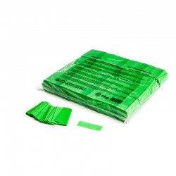 Slowfall confetti rectangles 1 Kg, 55x17mm - Light Green, MagicFX CON01LG