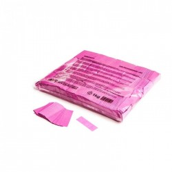 Slowfall confetti rectangles 1 Kg, 55x17mm - Pink, MagicFX CON01PK