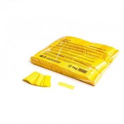 Slowfall confetti rectangles 1 Kg, 55x17mm - Yellow, MagicFX CON01YL