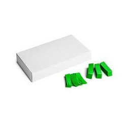 Slowfall confetti rectangles 500g, 55x17mm - Light Green, MagicFX CON20LG