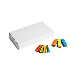 Slowfall confetti rectangles 500g, 55x17mm - Multicolour, MagicFX CON20MC