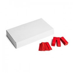 Slowfall confetti rectangles 500g, 55x17mm - Red, MagicFX CON20RD