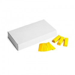 Slowfall confetti rectangles 500g, 55x17mm - Yellow, MagicFX CON20YL