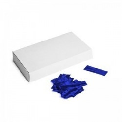 Metallic confetti rectangles 500g, 55x17mm - Blue, MagicFX CON40DB