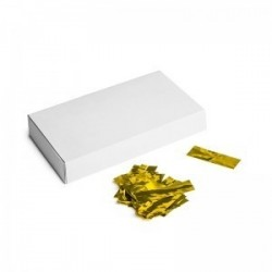 Metallic confetti rectangles 500g, 55x17mm - Gold, MagicFX CON40GL