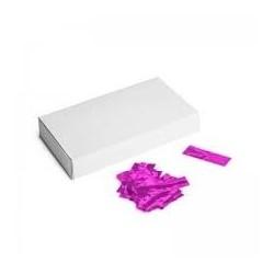 Metallic confetti rectangles 500g, 55x17mm - Pink, MagicFX CON40PK