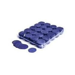 Slowfall confetti rounds 1 Kg, Ø 55mm - Dark Blue, MagicFX CON02DB