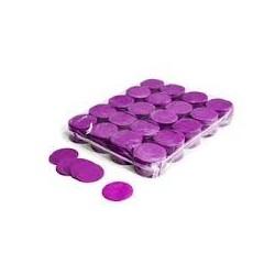 Slowfall confetti rounds 1 Kg, Ø 55mm - Purple, MagicFX CON02PR