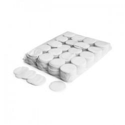 Slowfall confetti rounds 1 Kg, Ø 55mm - White, MagicFX CON02WH