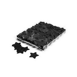 Slowfall confetti stars 1 Kg, Ø 55mm - Black, MagicFX CON03BL