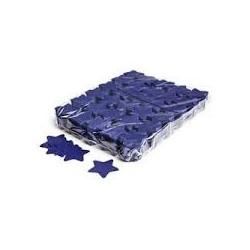Slowfall confetti stars 1 Kg, Ø 55mm - Dark Blue, MagicFX CON03DB