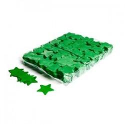 Slowfall confetti stars 1 Kg, Ø 55mm - Dark Green, MagicFX CON03DG