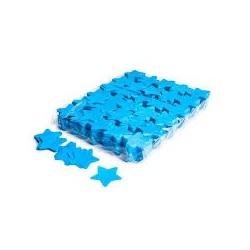 Slowfall confetti stars 1 Kg, Ø 55mm - Light Blue, MagicFX CON03LB