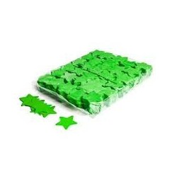 Slowfall confetti stars 1 Kg, Ø 55mm - Light Green, MagicFX CON03LG