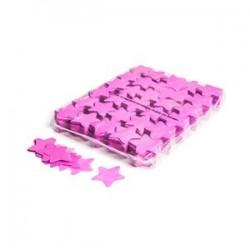Slowfall confetti stars 1 Kg, Ø 55mm - Pink, MagicFX CON03PK