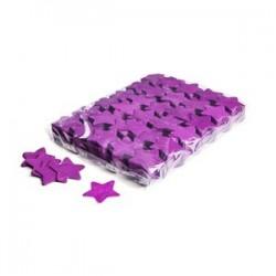 Slowfall confetti stars 1 kG, Ø 55mm - Purple, MagicFX CON03PR
