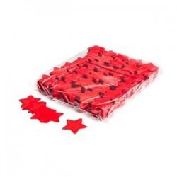Slowfall confetti stars 1 Kg, Ø 55mm - Red, MagicFX CON03RD
