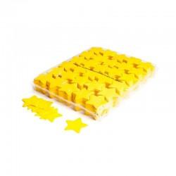 Slowfall confetti stars 1 Kg, Ø 55mm - Yellow, MagicFX CON03YL