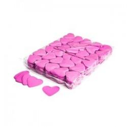 Slowfall confetti hearts 1 Kg, Ø 55mm - Pink, MagicFX CON04PK