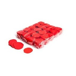 Slowfall confetti rose petals 1 Kg, Ø 55mm - Red, MagicFX CON05RD