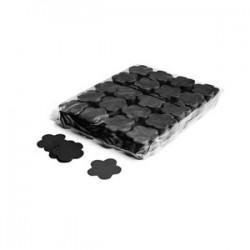 Slowfall confetti flowers 1 Kg, Ø 55mm - Black, MagicFX CON06BL