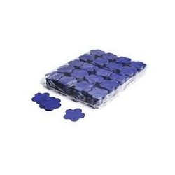 Slowfall confetti flowers 1 Kg, Ø 55mm - Dark Blue, MagicFX CON06DB