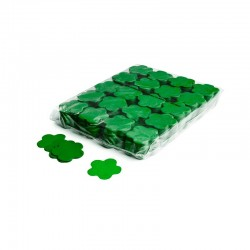 Slowfall confetti flowers 1 Kg, Ø 55mm - Dark Green, MagicFX CON06DG