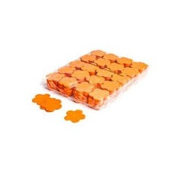 Slowfall confetti flowers 1 Kg, Ø 55mm - Orange, MagicFX CON06OR