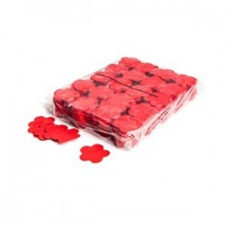 Slowfall confetti flowers 1 Kg, Ø 55mm - Red, MagicFX CON06RD