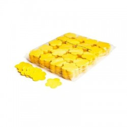 Slowfall confetti flowers 1 Kg, Ø 55mm - Yellow, MagicFX CON06YL