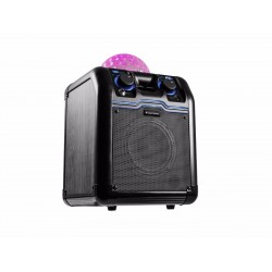 Boxa mobila cu bluetooth si efect lumini incorporat, 50W, Omnitronic BeatRevel S