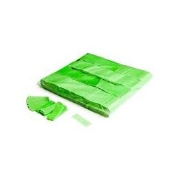 Slowfall UV confetti 1 Kg, 55x17mm - Fluo Green, MagicFX CON09GR