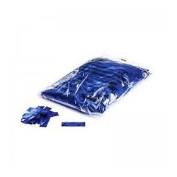 Metallic confetti rectangles 1 Kg, 55x17mm - Blue, MagicFX CON10DB